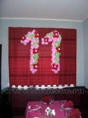 Украшение детского дня рождения в кафе