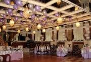 Оформление воздушными шарами юбилея в кафе