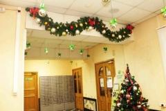 Новогодний декор банка