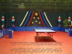 Оформление воздушными шарами спортивных соревнований