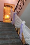 Оформление свадеб тканью
