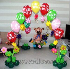 Украшение детского дня рождения