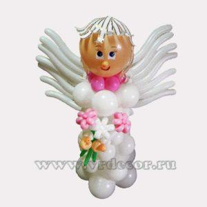 ангел из воздушных шаров