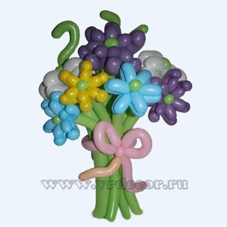 """Букет цветов из воздушных шаров """" Весенний привет!"""""""