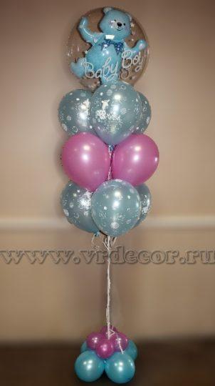 Воздушные шары на рождение мальчика