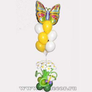 """Букет из воздушных шаров """"Весенний"""""""