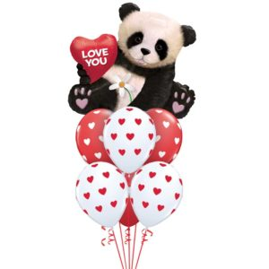 """Букет из воздушных шаров """"Я тебя люблю!"""""""
