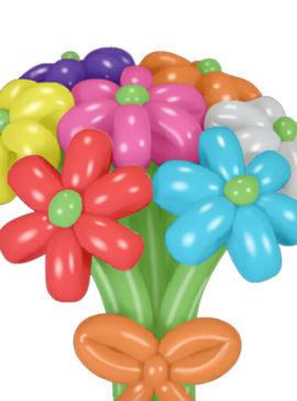 Цветы и корзины с цветами
