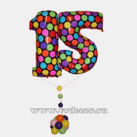 """Воздушные шары """"15"""""""