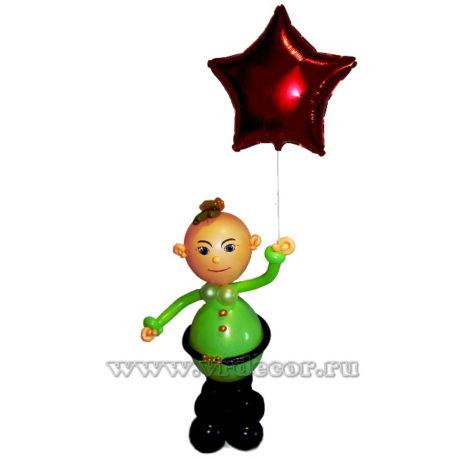 Призывник из шаров