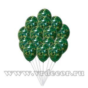 Воздушные шары с на 23 февраля