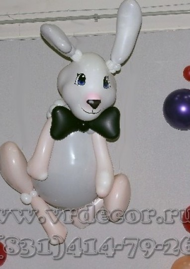 Кролик из шаров