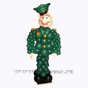Военный из воздушных шаров