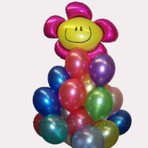 """Облако из воздушных шаров """"Улыбка"""""""