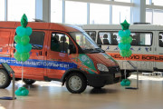 a car dealership balloons