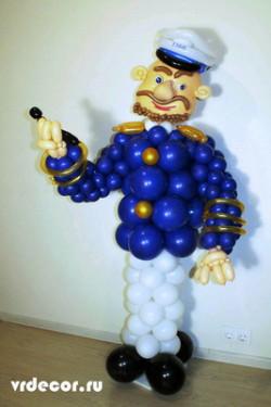 Капитан из воздушных шаров