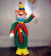 Клоун из воздушных шаров