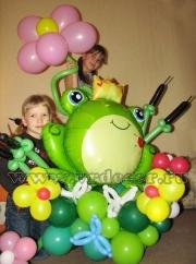Лякушка из шаров