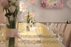 оформление свадьбы цветвми