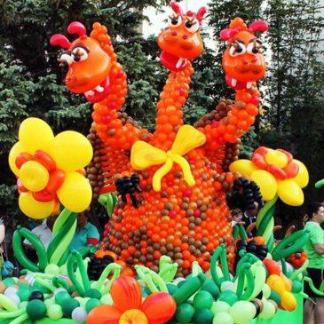 3-й Южнороссийский фестиваль воздушных шаров