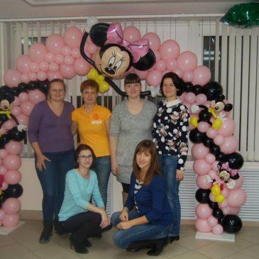 Обучающий семинар по оформлению воздушными шарами в Нижнем Новгороде