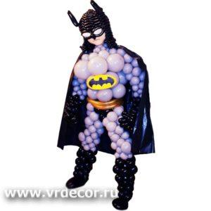 Бэтмен из воздушных шаров