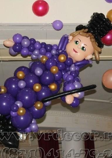 Фокусник из шаров