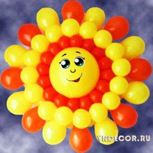 Солнце из шаррв