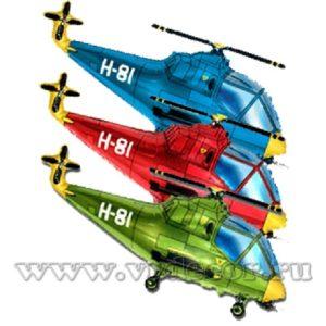 Фольгированный шар-вертолет